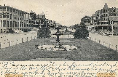 Vintage black and white postcards 4