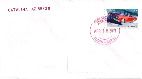 Arizona Postal History Page 5