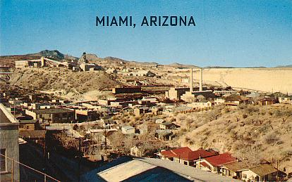 Historic U S Highway 70 Through Arizona On Vintage