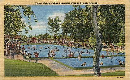 Historic U S Highway 80 Through Arizona On Vintage Postcards Page 7