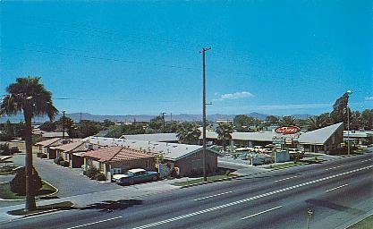 Historic U S Highway 80 Through Arizona On Vintage