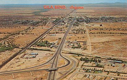 Historic U S Highway Through Arizona On Vintage Postcards - Old us 80 arizona map