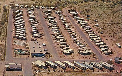 Historic U S Highway 80 Through Arizona On Vintage Postcards
