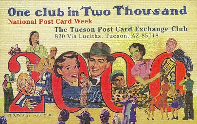 This is the homepage for the Tucson Post Card Exchange Club which serves postcard collectors and deltiologists all around Arizona,