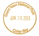 Grand teton national park passport cancellation stamps for National passport processing center