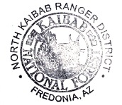 National Forests Passport Cancellation Stamps