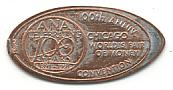 ANA Celebrating 100 Years 1891-1991.  Chicago.  World's Fair Of Money.  100th Anniv. Convention