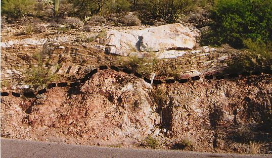 Site gives the clues for finding 9 letterboxes in the Tucson, Arizona, area.  The theme is geology.