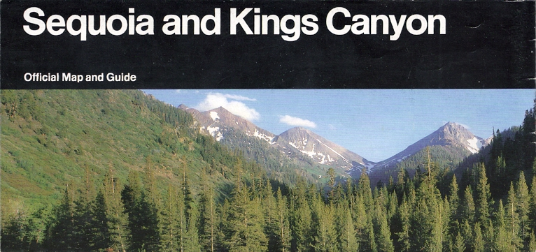 Kings Canyon National Park Passport Cancellation Stamps