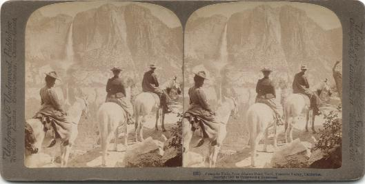 Image result for underwood and underwood yosemite falls, from glacier point trail 1902